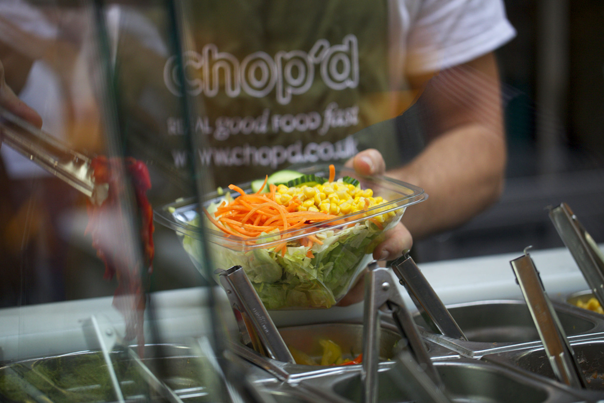 Sustainably sourced high street eatery, Chop'd joins retail group.