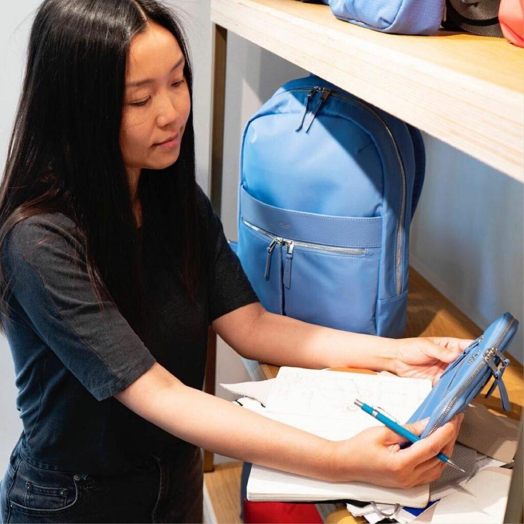 Designing Knomo bags