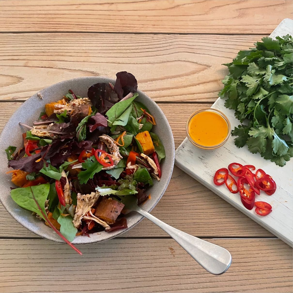 Fresh Chop'd salad