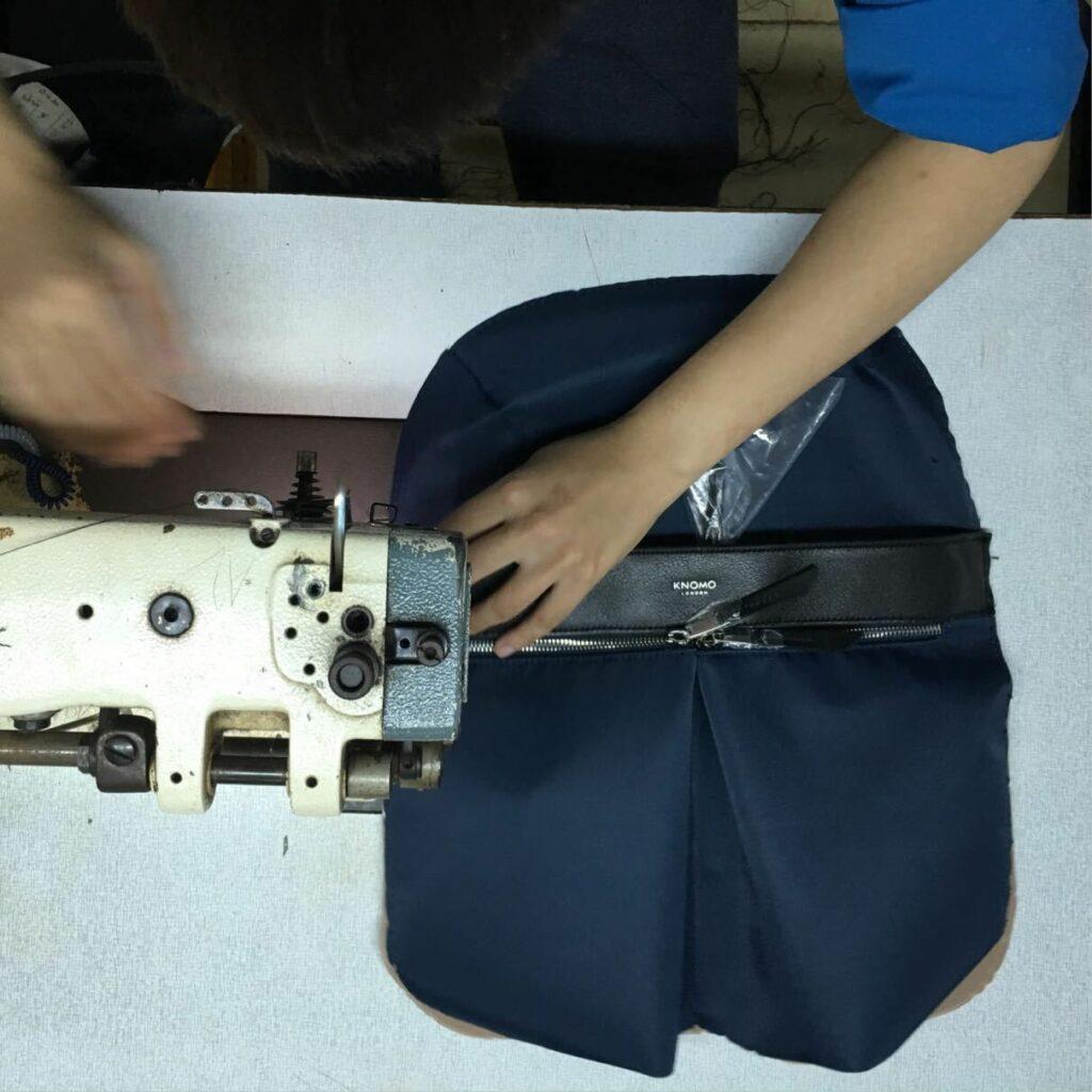 Sewing a Knomo bag